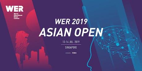 WER Asian Open tickets