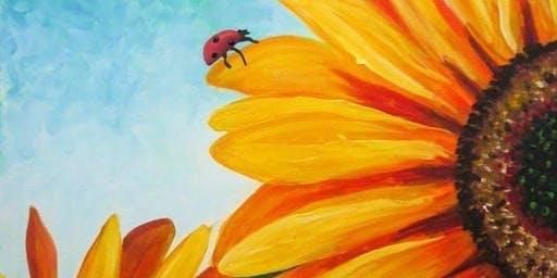 Sunflower and Lady - Darwin