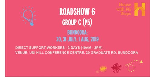 Metro: Roadshow 6: Direct Support Workers (3 days 10am - 3pm) Group C