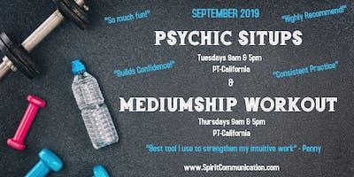 Psychic Situps - September 2019 (Online Classroom)
