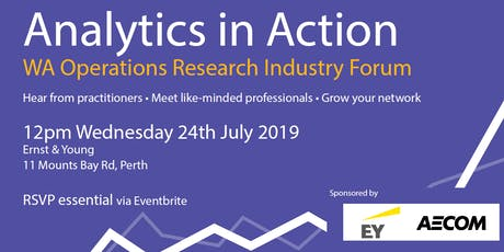 Analytics in Action - July 2019 Event tickets