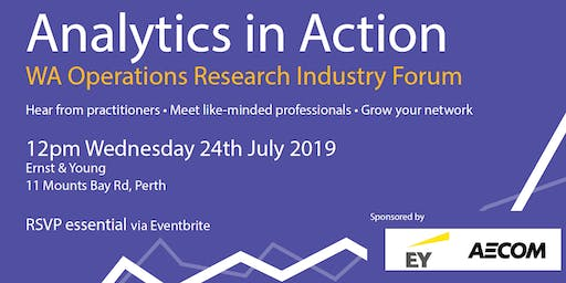 Analytics in Action - July 2019 Event