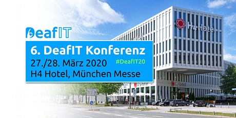 DeafIT Konferenz 2020  Tickets