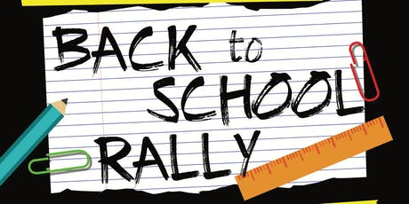 Back 2 School Rally 2019 tickets