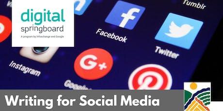 Writing for Social Media @ Kapunda Library (Oct 2019) tickets