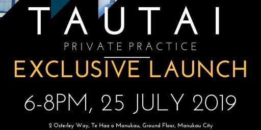 Tautai Private Practice Exclusive Launch
