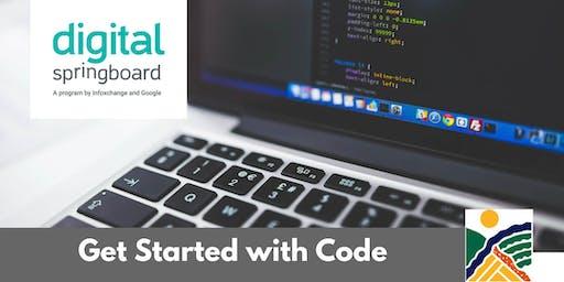 Get Started with Code @ Kapunda Library (Nov 2019)
