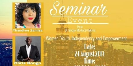 Women,  Youth Independence and Empowerment tickets