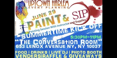 Summertime Kickoff: Sip + Paint + Mengal tickets