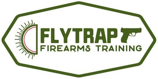 Flytrap Firearms Training Presents: Handgun Fundamentals & Defensive Shooting
