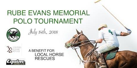 Rube Evans Memorial Polo Tournament tickets