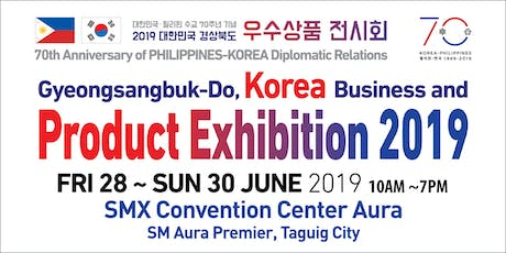 Gyeongsangbuk-Do, Korea Business Product Exhibition 2019 tickets