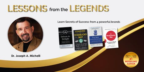 Lessons from the Legends 2019 by Joseph Michelli tickets