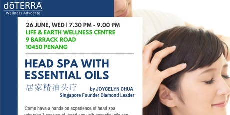 Head Spa with Essential Oils tickets