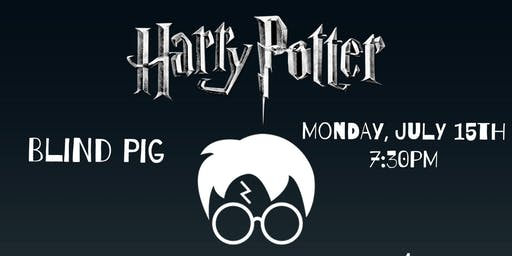 Harry Potter Trivia at Blind Pig