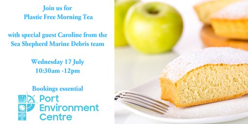 Plastic Free Morning Tea at the Port Environment Centre