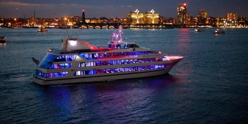 The #1 OFFICIAL Latina Boat Party Mega Yacht Infinity Hornblower NYC