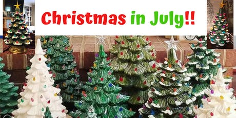 Christmas in July - Paint a Ceramic Christmas Tree tickets
