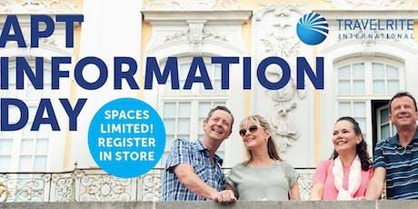 APT Information Day - Travelrite International Heathmont tickets