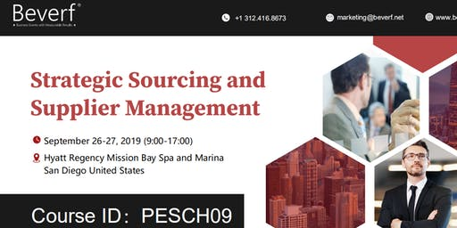 Strategic Sourcing and Supplier Management