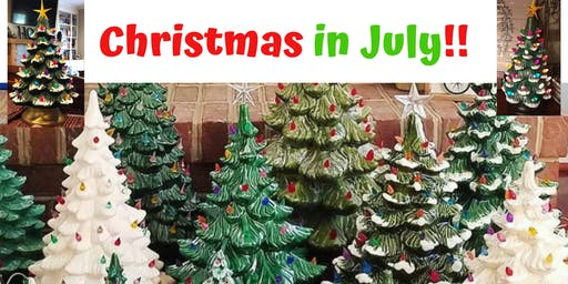 Christmas in July - Paint a Christmas Tree