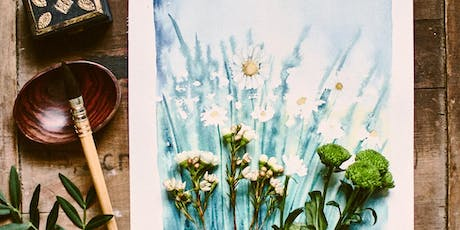 Aquarell Workshop - Botanische Illustration - Köln - Café Lukha & Herr Landmann - Eugenia Nazaret - 5.07.2019 Tickets