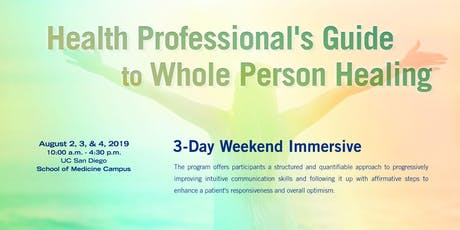 Health Professional's Guide to Whole-Person Healing tickets