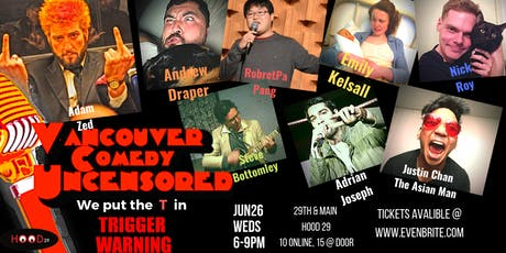 Vancouver Comedy Uncensored tickets