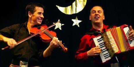 Sandy Brechin and Gregor Borland tickets