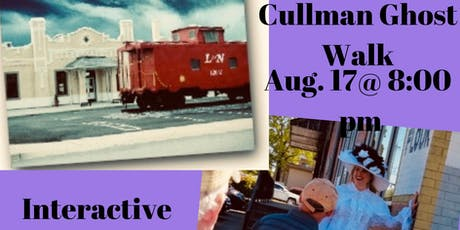 Historic Cullman City Ghost Walk/Paranormal Investigation City & Depot tickets