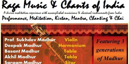 Raga Music & Chants of India - Tauranga - At The Light Room