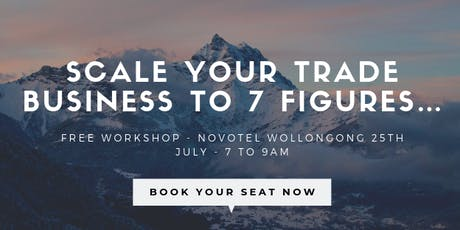 Scale Your Trade Business To 7 Figures.  tickets