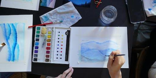 Water Colour Basics - Painting a Jamaican Landscape