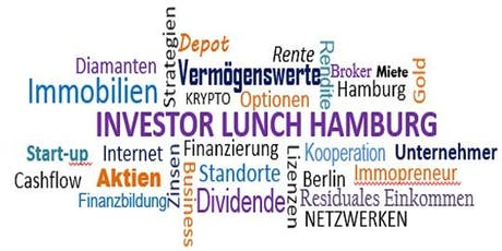 Investor Lunch Hamburg CITY 13.10.2019 Tickets