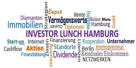 Investor Lunch Hamburg CITY 10.11.2019 Tickets