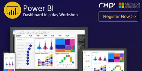 Microsoft Power BI – Dashboard in a day workshop tickets