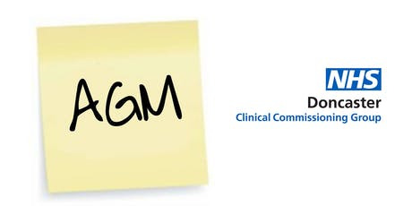 Doncaster Clinical Commissionng Group Annual General Meeting and networking tickets
