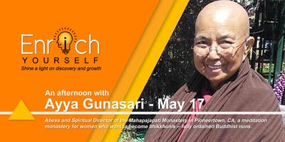 Enrich Yourself Speaker Series: AYYA GUNASARI