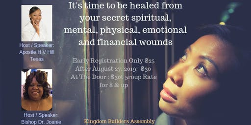 God Wants To Heal What You don't Want Reveal