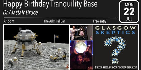 Glasgow Skeptics Presents: Happy Birthday Tranquility Base tickets