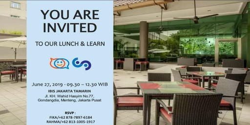 Lunch and Learn More Advanced With Us