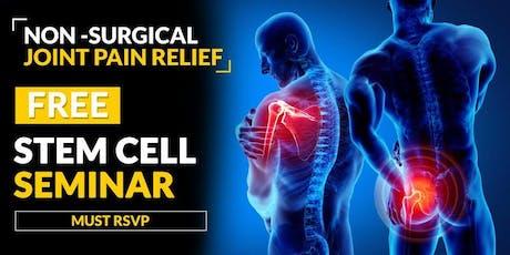 FREE Stem Cell and Regenerative Medicine Seminar - Kailua-Kona, HI 7/03 2:30 PM tickets