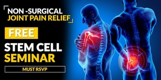 FREE Stem Cell and Regenerative Medicine Seminar - Kailua-Kona, HI 7/03 2PM