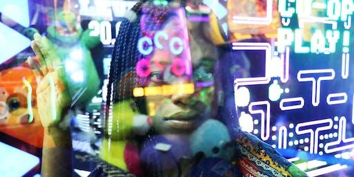 Neon Lights group shoot