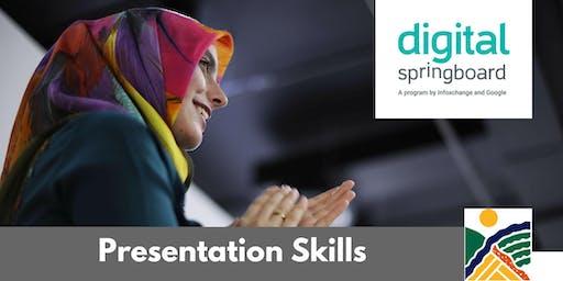 Presentation Skills @ Freeling Library (Nov 2019)
