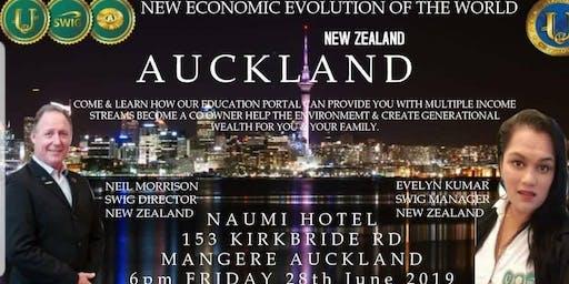 SWIG AUCKLAND ~ New Economic Evolution of the World