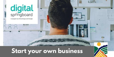Skills to start your own business (Part 1) @ Freeling Library (Nov 2019) tickets