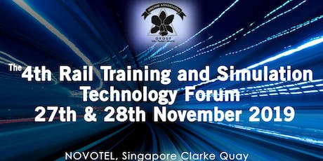 4th Rail Training & Simulation Technology Forum 27th-28th Nov in Singapore tickets