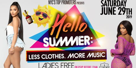 HELLO SUMMER • CANCER AFFAIR • LADIES FREE ON RSVP • CANCERS FREE W/ TABLE RESERVATION  tickets