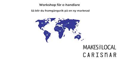 Workshop: Etablera din e-handel på en ny marknad